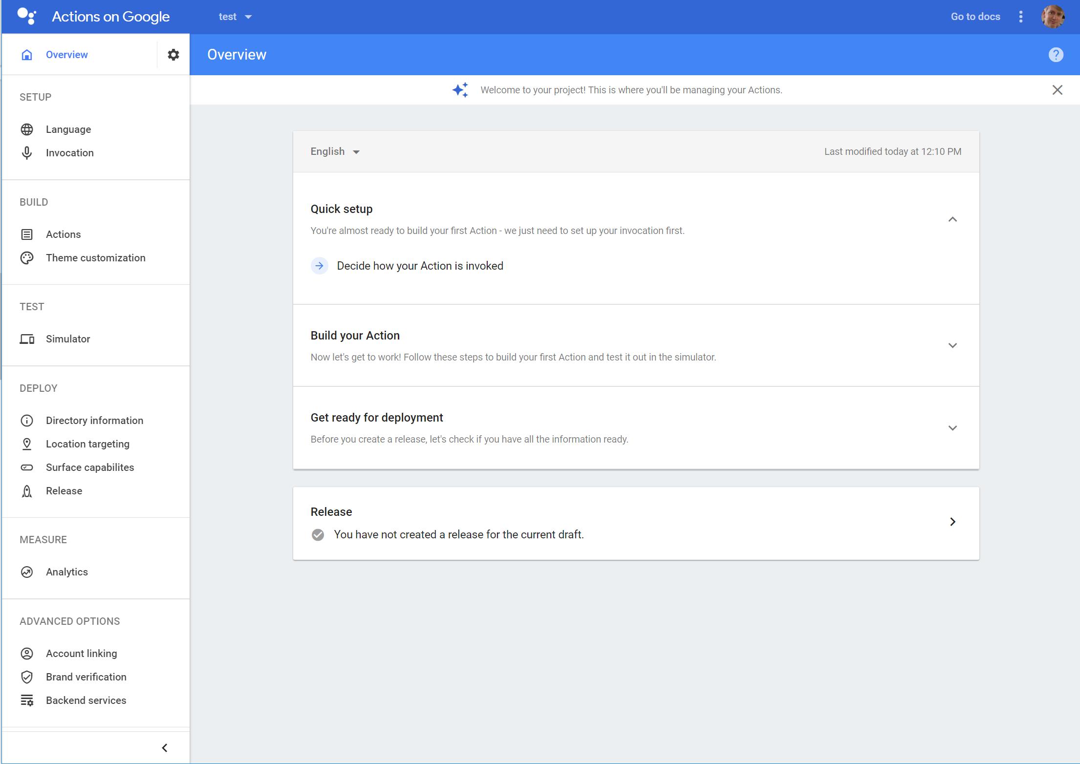 My First Google Assistant App (Part 2) | Alan Kent's Blog